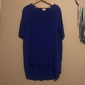Navy blue Lularoe top